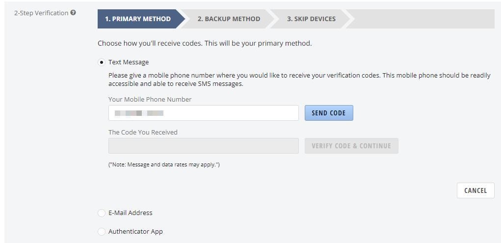 2-Step Verification – Newegg Knowledge Base