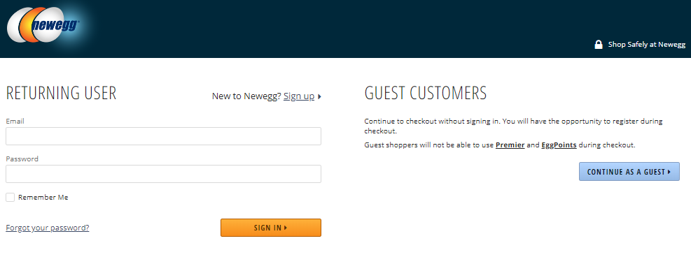 How To Place An Order Newegg Knowledge Base